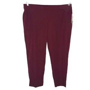 NEW!!!  Roz & Ali ankle pants size 18W